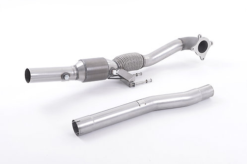 S3 2.0 T quattro 3-Door 8P 2006 - 2012 CAST DOWNPIPE WITH RACE CAT