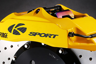 K Sport Front Brake Kit: 286mm 6 pot caliper