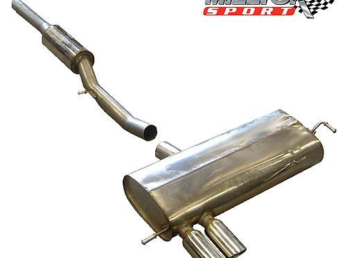 S3 1.8T quattro 8L 1998 - 2003 Cat-back Resonated