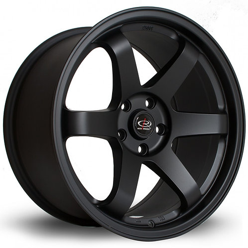 Grid 19x8.5 5x114 ET45 Flat Black