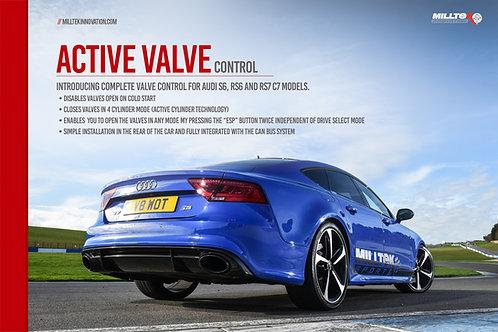 S5 3.0 V6 Turbo Sportback B9 (Non Sport Diff Models) 2017+ Active Valve Control