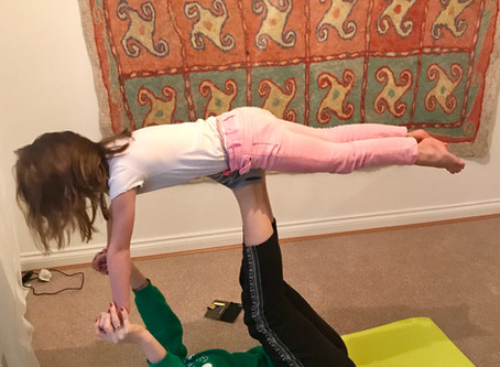 Kids Yoga Classes in Altrincham!
