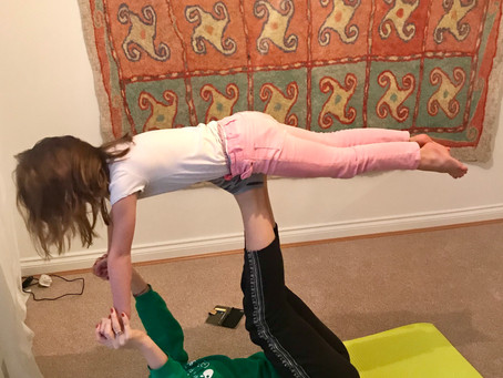 Kids Yoga Classes in Altrincham!