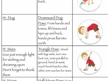 Йога для детей. Активные игры и игры на концентрацию