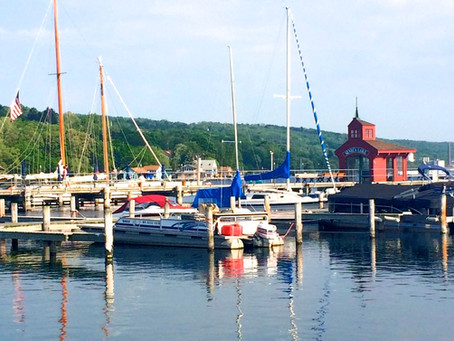Water and wine are the blessings of New York's Finger Lakes region
