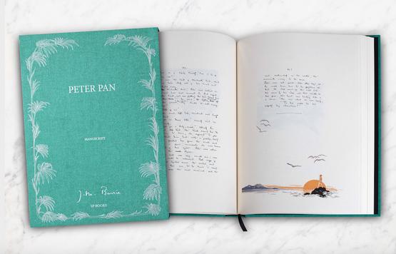 Le manuscrit de Peter Pan