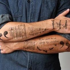 Tatouages littéraire