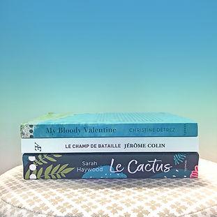 3 romans, 3 ambiances pour les vacances