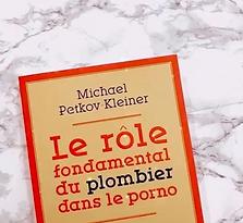 Le rôle fondamental du plombier dans le porno, Mickael Petkov Kleiner
