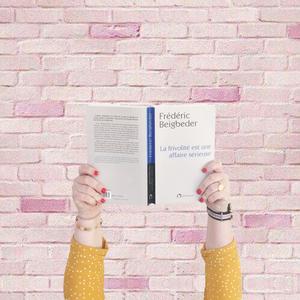 La frivolité est une affaire sérieuse beigbeder 10 conseils culture lecture
