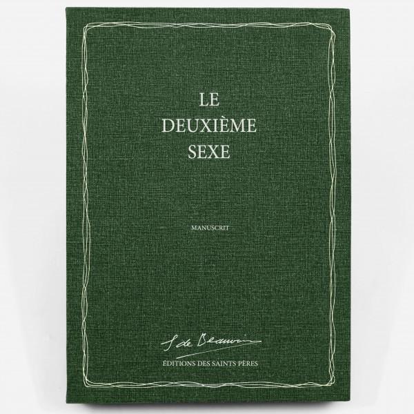 Le manuscrit de Deuxième sexe