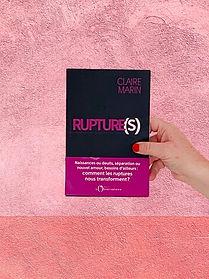 Rupture(s), Claire Marin