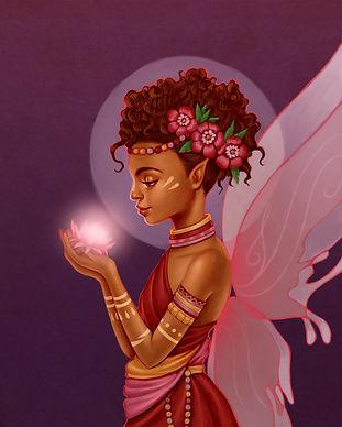 Purple Fairy Background Cover_original s