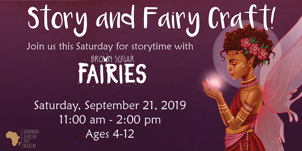 Story and Fairy Craft Ft. Brown Sugar Fairies