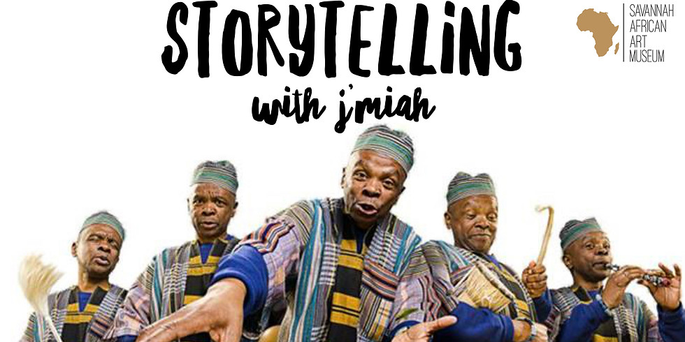 AFRICAN RHYTHMS & STORYTELLING WITH J'MIAH