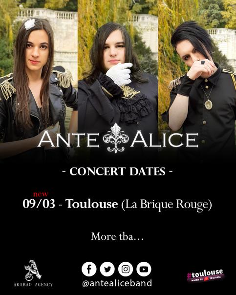 Première date de concert !