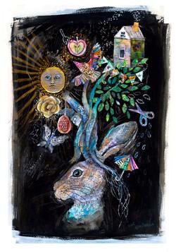 ウサギの木