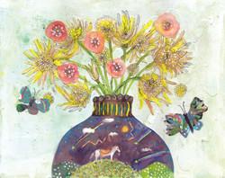 夜空の花瓶