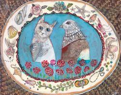 猫と鳥のお話