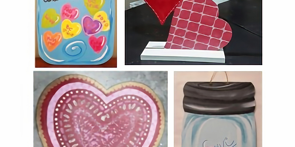 Trivia Sip and Paint! Valentine's Day Trivia