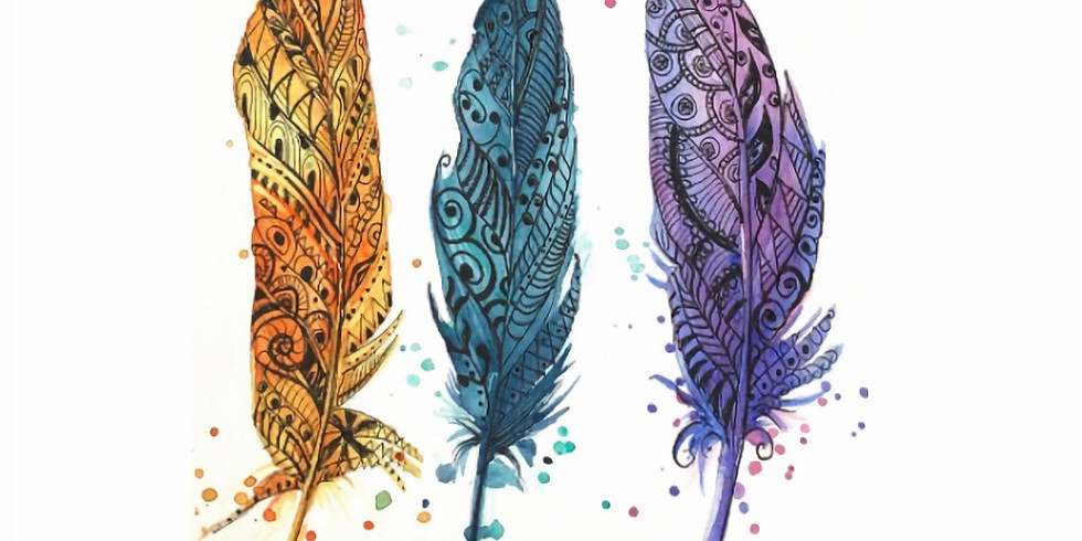 Learn to...............Watercolor and Zentangle