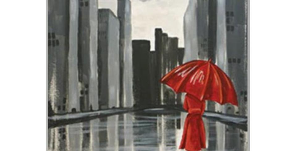 Walk in the Rain Sip & Paint  LATE NIGHT