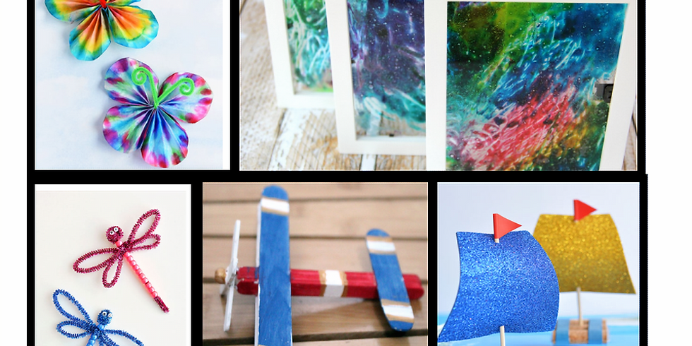 Kid Craft Hours, Ages 4-12