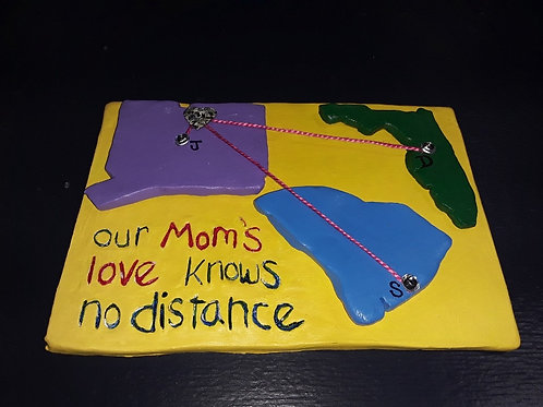Mother's Day Clay Love Knows No Distance