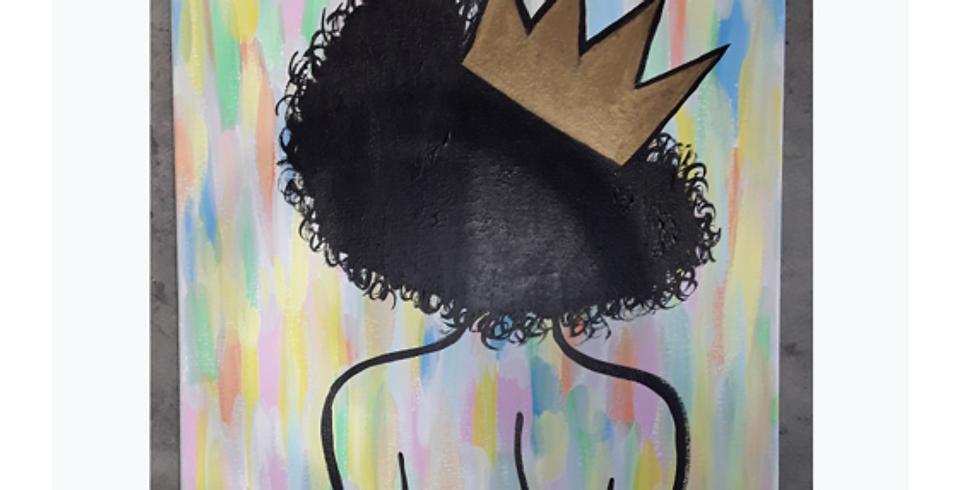Sip & Paint, Queen Bee