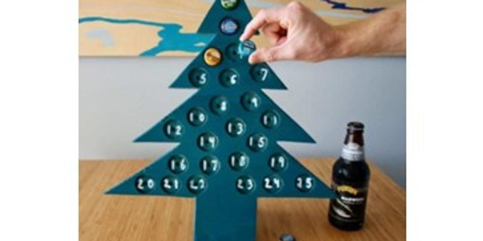 Bottle Cap Advent Calendar