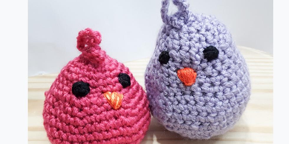 Beginner crochet-Summer Bird