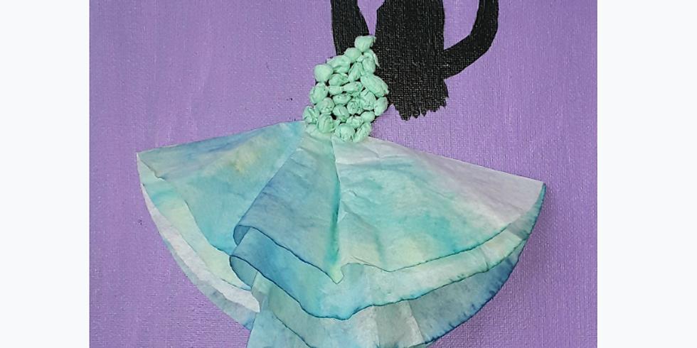 Virtual Kids' Paint Class: Dancing off the Canvas