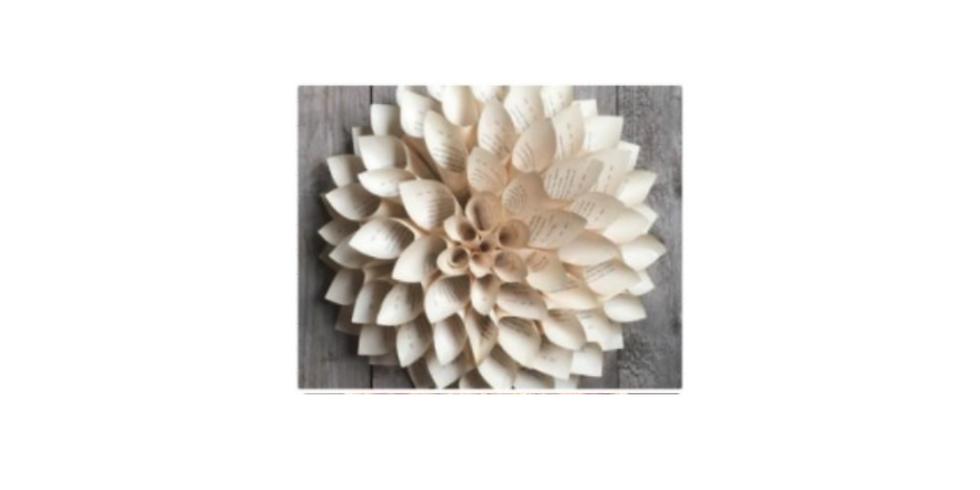 Sip & Craft: Paper Flower