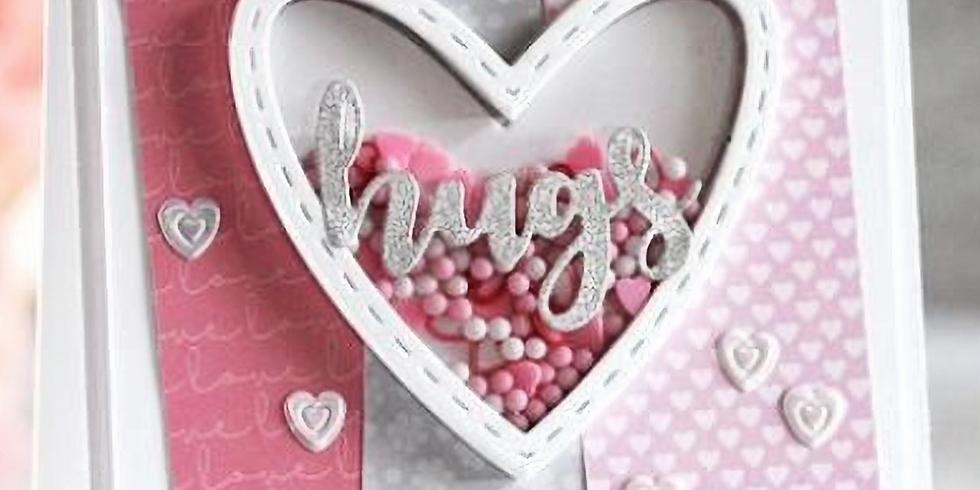Valentine's Shaker cards