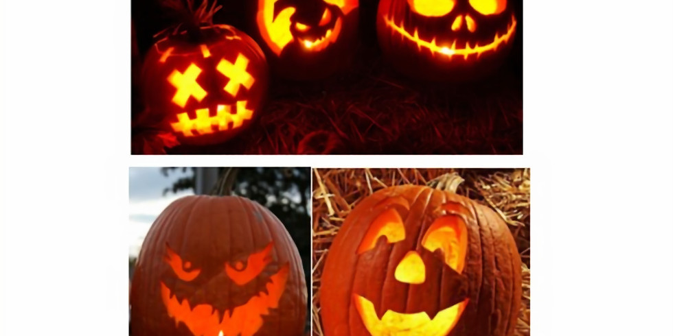 BRING YOUR PUMPKINS! It is Carving day!