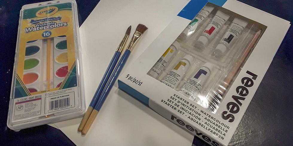 Take Home Watercolor Kit