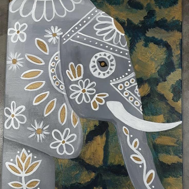 Sip & Paint: Majestic Elephant