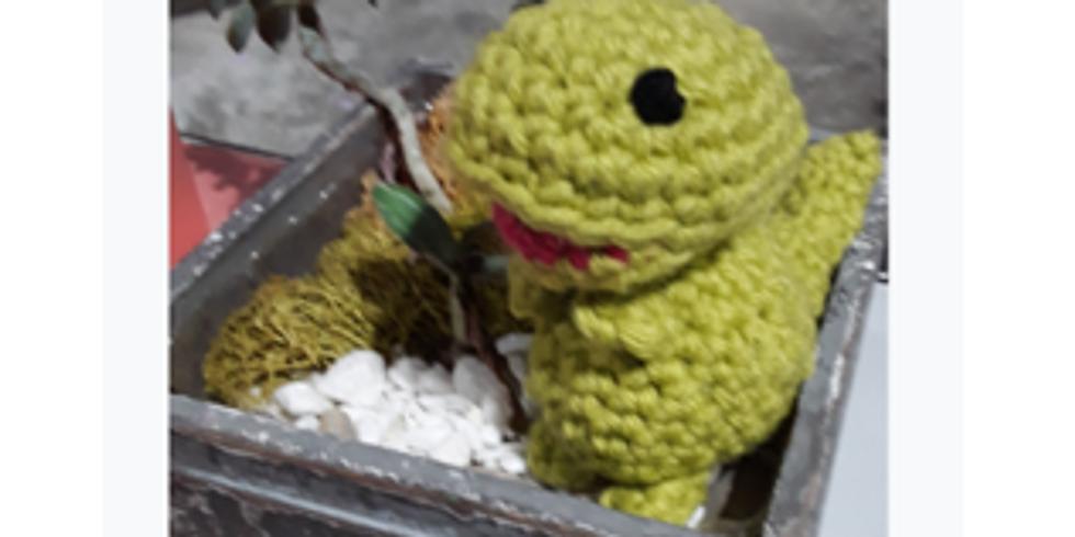 Beginner crochet- Dinosaur