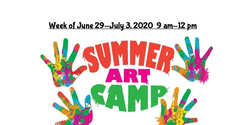 Summer Camp, JUNE 29  - JULY 3,  9 am - 12 pm, Full Week  (1)