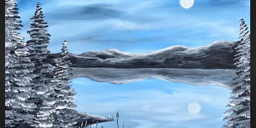 Winter Landscape Sip & Paint Night