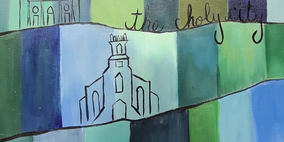 Virtual or In Studio Sip & Paint: Charleston