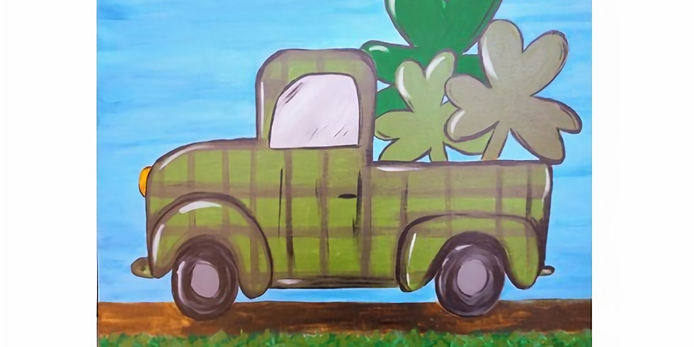 St. Pat's Sip & Paint with trivia