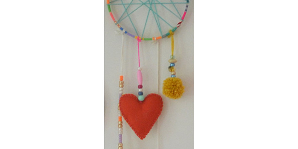 Special Kids' Craft: Dream Catchers,  On Zoom and In studio!