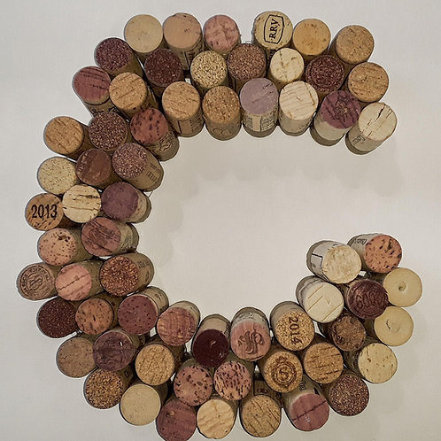 Made to Order-Cork Initials