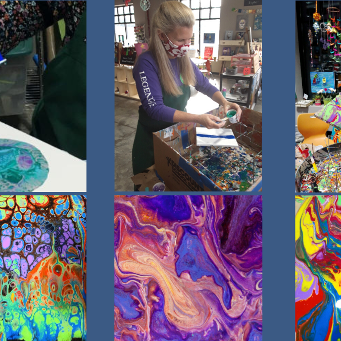 Paint Pouring ALL ages