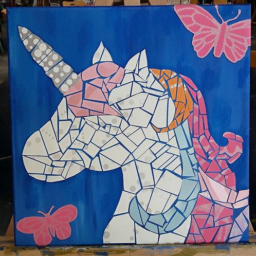 Paint & Puzzle: Unicorn
