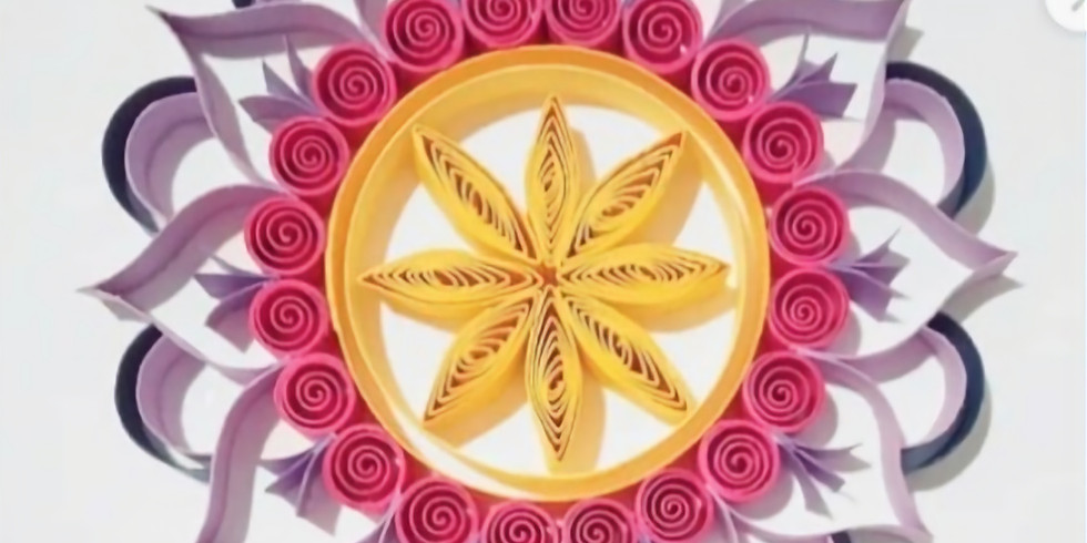 Learn How to Quill by making a mandala.