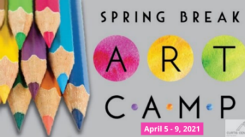 Spring Break Art Camp With Dates-Reduced