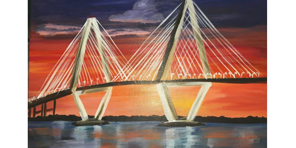 Sip & Paint, Charleston's Bridge
