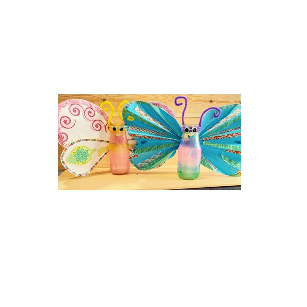 Parent/Child Craft Time: Container butterflies (1)